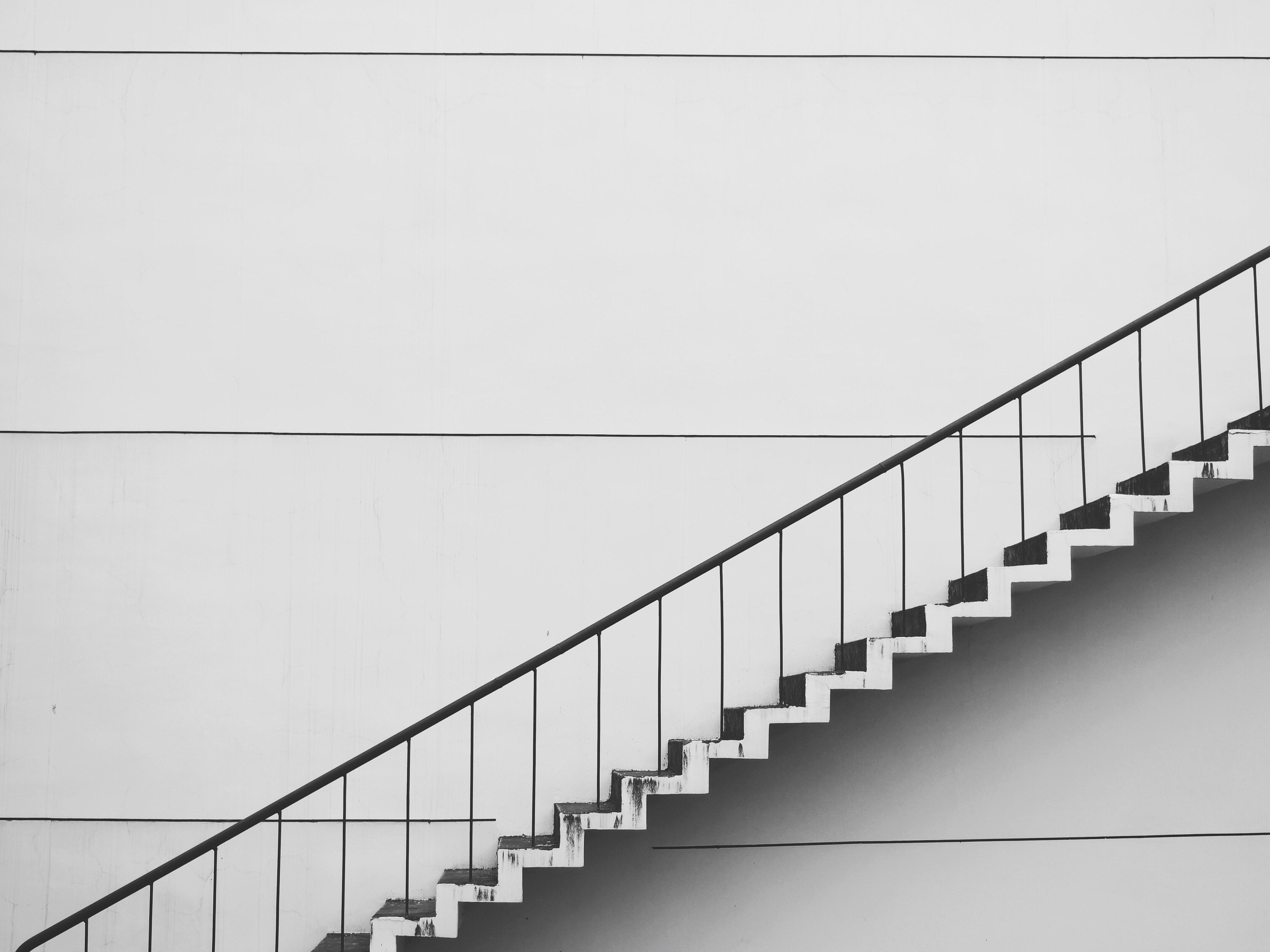 真横から見た階段
