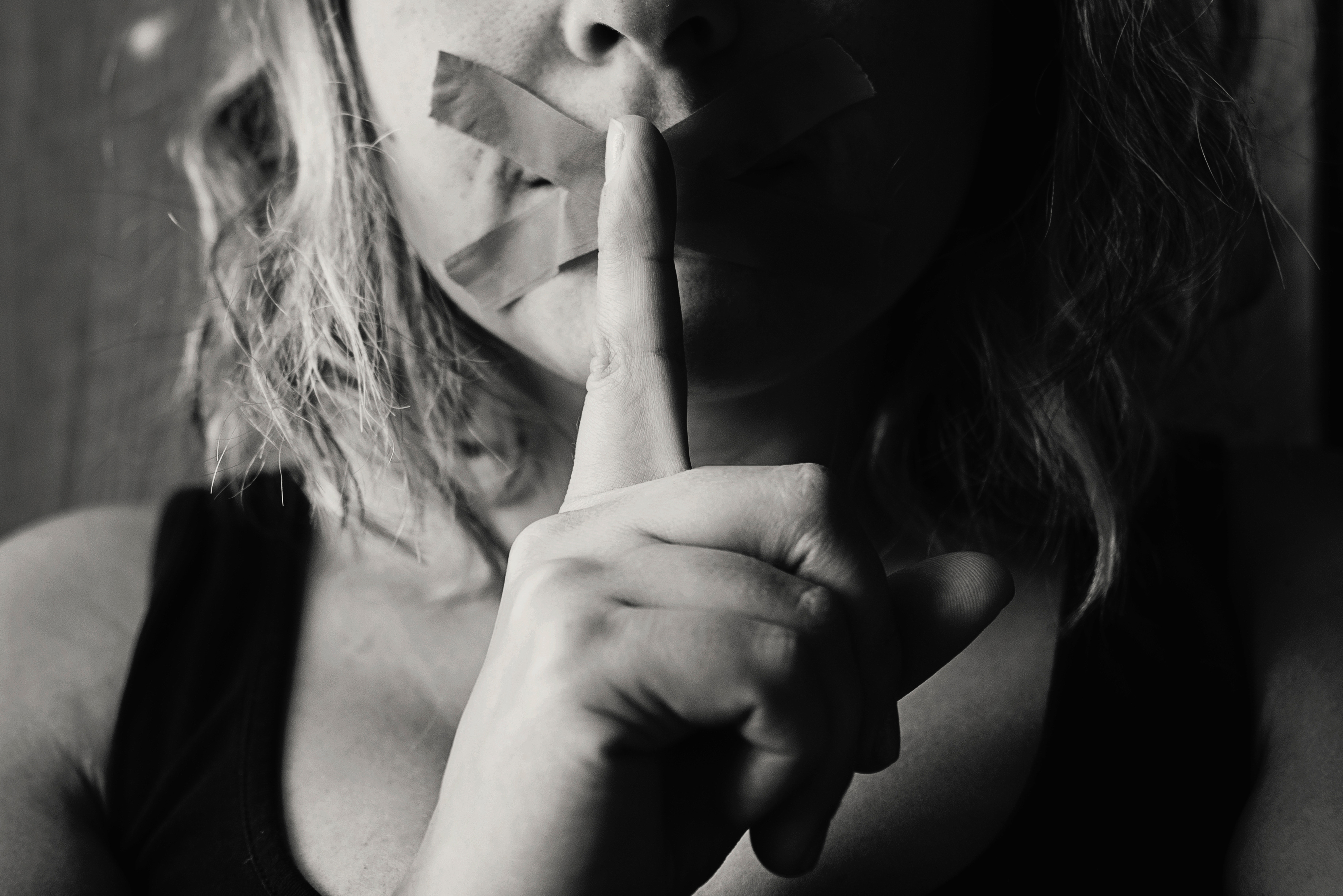白黒と秘密