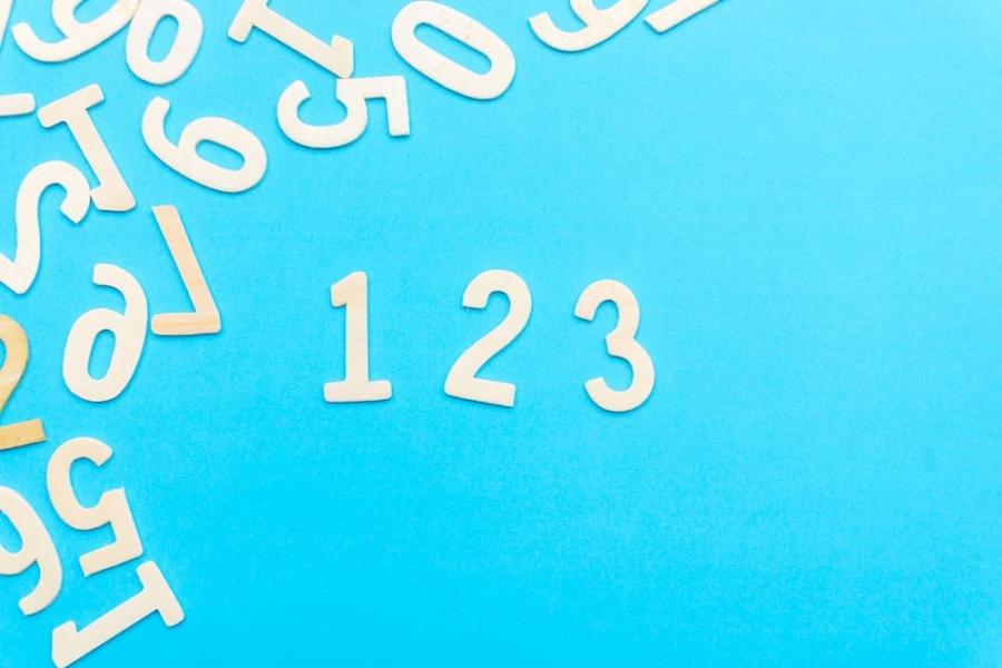 数字123